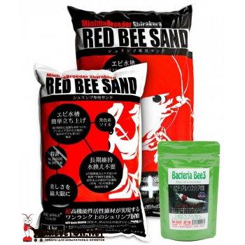 Грунт Shirakura Red Bee Sand 4 кг & Benibachi Bee3