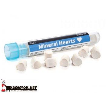 GlasGarten Mineral Hearts